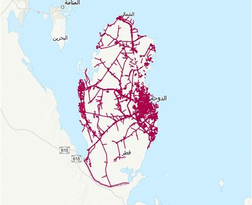 Photo of قاعدة بيانات متكاملة لطرق – قطر