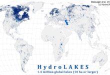 Photo of قاعدة بيانات جميع البحيرات العالمية بمساحة لا تقل عن 10 هكتارات