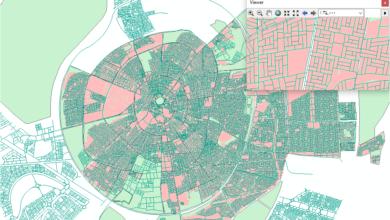 Photo of قاعدة بيانات متكاملة ( طرق ، مباني ، تقسيم إداري ) لمدينة أربيل – العراق