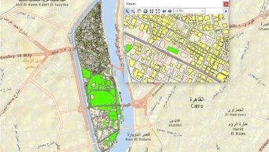 Photo of قاعدة بيانات جزيرة الزمالك ( طرق ومباني ) – مصر