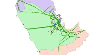 Photo of قاعدة بيانات الخريطة المناطق البترولية – المملكة العربية السعودية