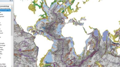 Photo of تحميل شيب فايل البيانات الجيومورفولوجية لقاع البحار العالمية – seafloor geomorphic