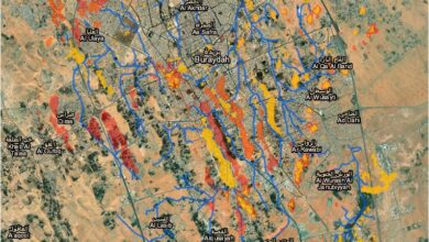 Photo of قاعدة بيانات المناطق المعرضة لخطر الغمر على حسب مستوى التساقط المطري بمدينة بريدة – المملكة العربية السعودية
