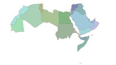 Photo of تحميل شيب فايل الحدود السياسية لدول الوطن العربي