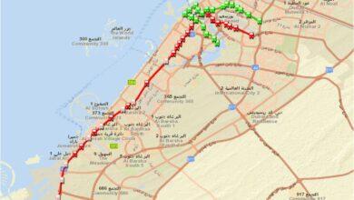 Photo of تحميل شيب فايل خطوط ومحطات مترو دبي – الإمارات العربية المتحدة