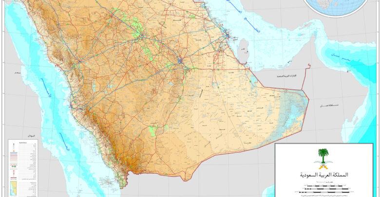 Photo of تحميل الخرائط الطبوغرافية للمملكة العربية السعودية مقياس 1 : 25000