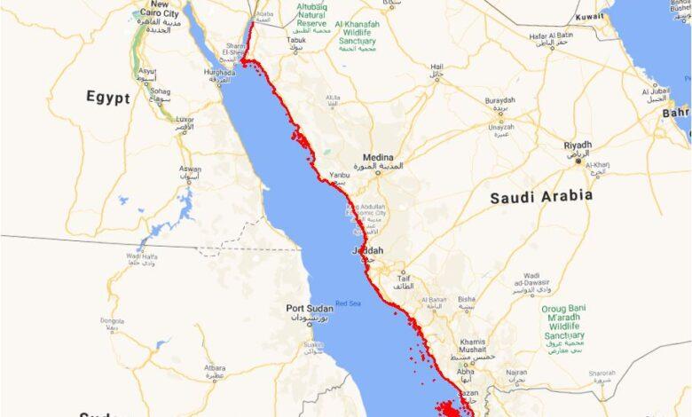 Photo of تحميل شيب فايل خط الساحل الغربي 2021 للمملكة العربية السعودية + تصنيف مؤشر البيئة للشواطئ