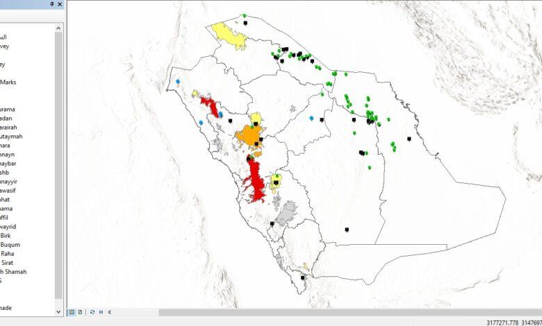 Photo of تحميل قاعدة بيانات السياحة الجيولوجية – بالمملكة العربية السعودية