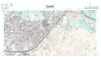 Photo of تحميل خريطة المزاحمية الطبوغرافية مقياس 1:25000
