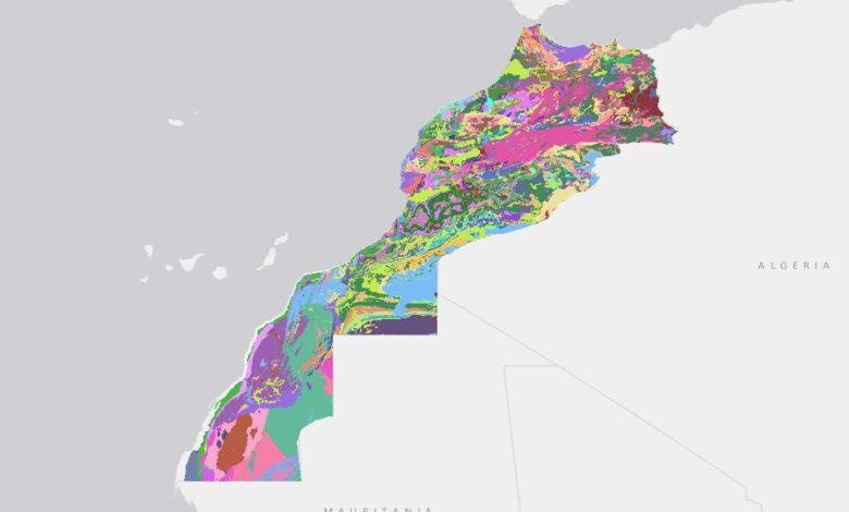 Photo of تحميل شيب فايل الخريطة الجيولوجية الرقمية – المملكة المغربية